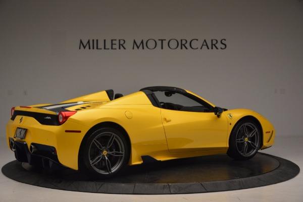 Used 2015 Ferrari 458 Speciale Aperta for sale Sold at Maserati of Greenwich in Greenwich CT 06830 8