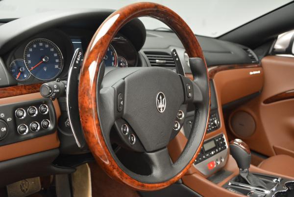 Used 2012 Maserati GranTurismo for sale Sold at Maserati of Greenwich in Greenwich CT 06830 24