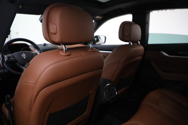 Used 2018 Maserati Levante Q4 for sale $57,900 at Maserati of Greenwich in Greenwich CT 06830 19