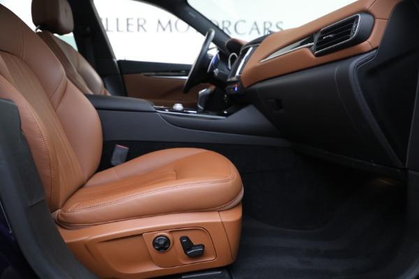 Used 2018 Maserati Levante Q4 for sale $57,900 at Maserati of Greenwich in Greenwich CT 06830 22