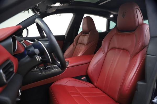 Used 2018 Maserati Levante S GranSport for sale $66,900 at Maserati of Greenwich in Greenwich CT 06830 14