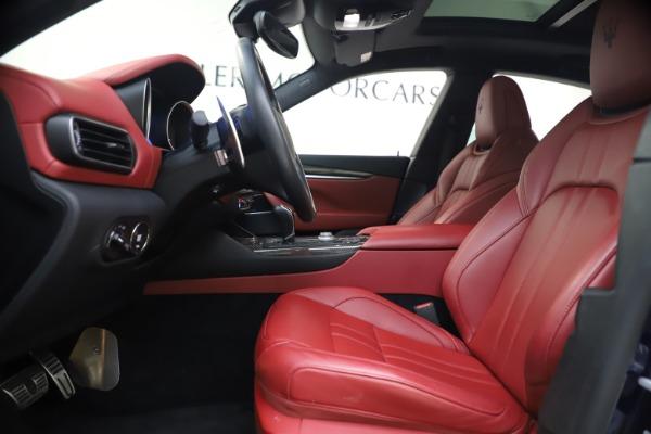Used 2018 Maserati Levante S GranSport for sale $66,900 at Maserati of Greenwich in Greenwich CT 06830 15