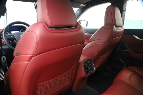 Used 2018 Maserati Levante S GranSport for sale $66,900 at Maserati of Greenwich in Greenwich CT 06830 21