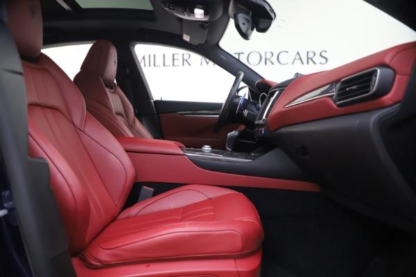 Used 2018 Maserati Levante S GranSport for sale $66,900 at Maserati of Greenwich in Greenwich CT 06830 23