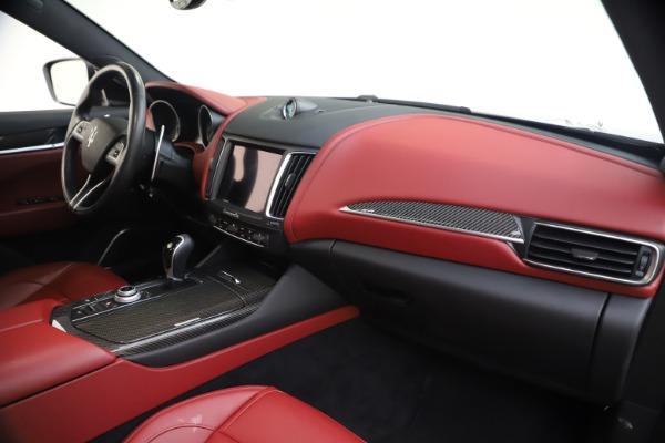 Used 2018 Maserati Levante S GranSport for sale $66,900 at Maserati of Greenwich in Greenwich CT 06830 24