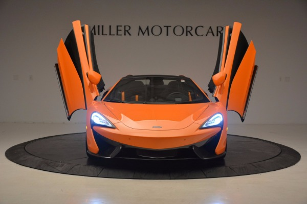 New 2018 McLaren 570S Spider for sale Sold at Maserati of Greenwich in Greenwich CT 06830 13