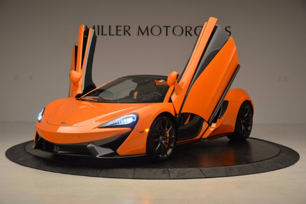 New 2018 McLaren 570S Spider for sale Sold at Maserati of Greenwich in Greenwich CT 06830 14