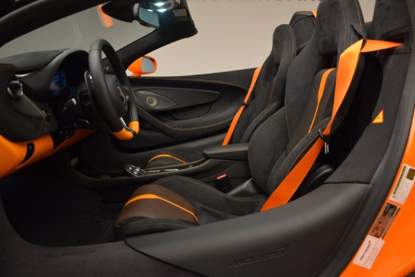 New 2018 McLaren 570S Spider for sale Sold at Maserati of Greenwich in Greenwich CT 06830 26