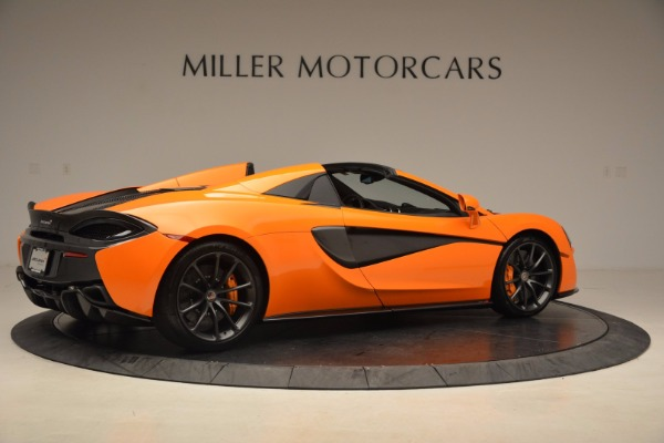 New 2018 McLaren 570S Spider for sale Sold at Maserati of Greenwich in Greenwich CT 06830 8