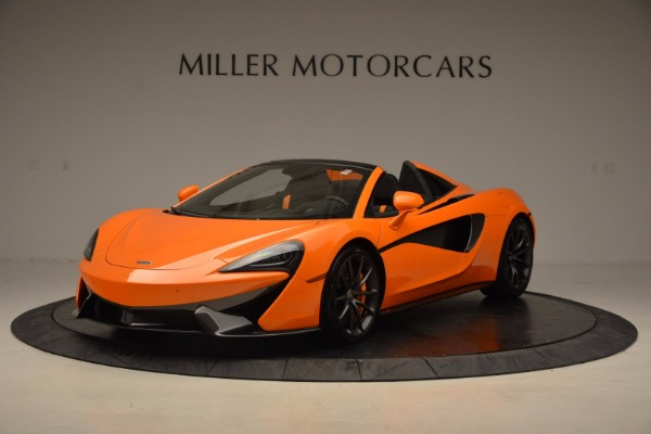 New 2018 McLaren 570S Spider for sale Sold at Maserati of Greenwich in Greenwich CT 06830 1