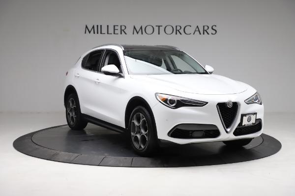 Used 2018 Alfa Romeo Stelvio Q4 for sale Sold at Maserati of Greenwich in Greenwich CT 06830 12