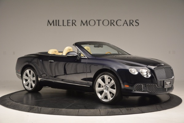 Used 2012 Bentley Continental GTC for sale Sold at Maserati of Greenwich in Greenwich CT 06830 10