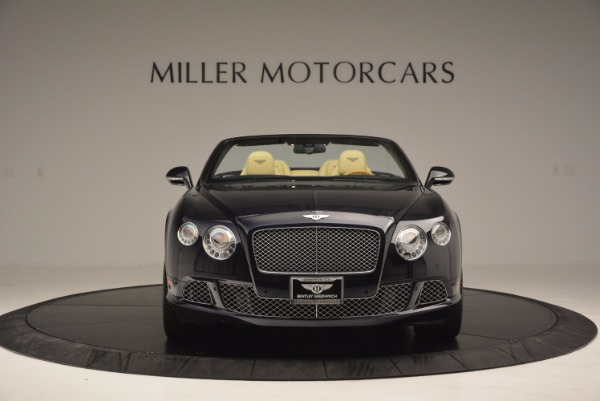 Used 2012 Bentley Continental GTC for sale Sold at Maserati of Greenwich in Greenwich CT 06830 12