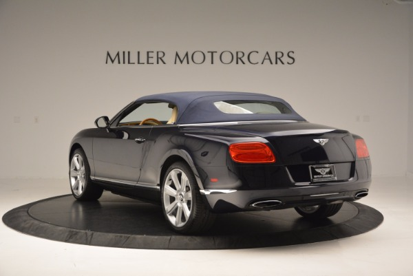 Used 2012 Bentley Continental GTC for sale Sold at Maserati of Greenwich in Greenwich CT 06830 18