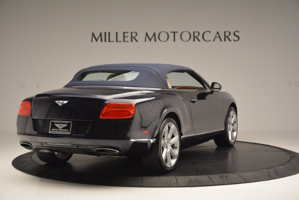 Used 2012 Bentley Continental GTC for sale Sold at Maserati of Greenwich in Greenwich CT 06830 20