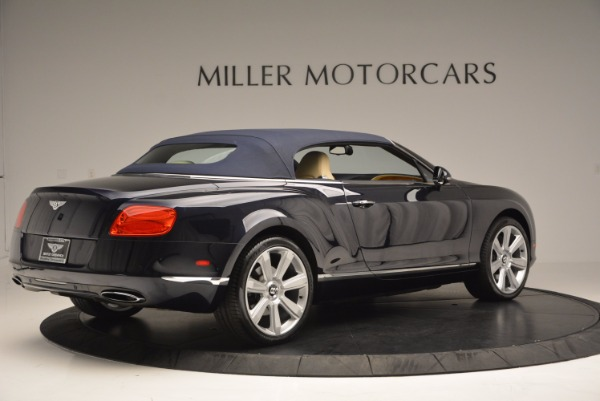 Used 2012 Bentley Continental GTC for sale Sold at Maserati of Greenwich in Greenwich CT 06830 21