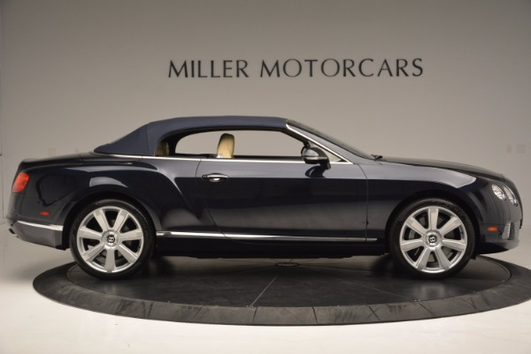 Used 2012 Bentley Continental GTC for sale Sold at Maserati of Greenwich in Greenwich CT 06830 22