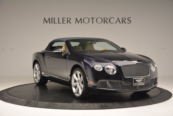 Used 2012 Bentley Continental GTC for sale Sold at Maserati of Greenwich in Greenwich CT 06830 24