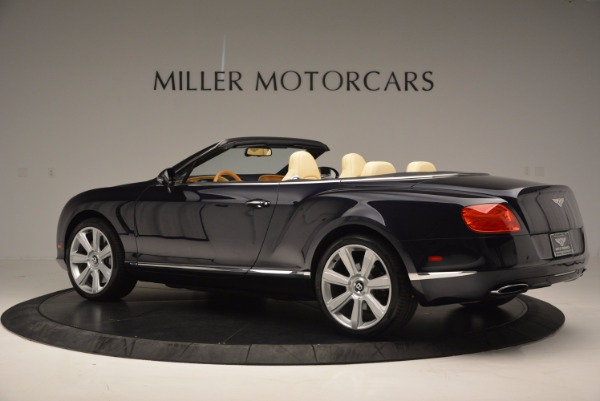 Used 2012 Bentley Continental GTC for sale Sold at Maserati of Greenwich in Greenwich CT 06830 4