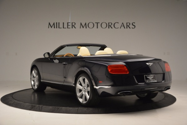 Used 2012 Bentley Continental GTC for sale Sold at Maserati of Greenwich in Greenwich CT 06830 5