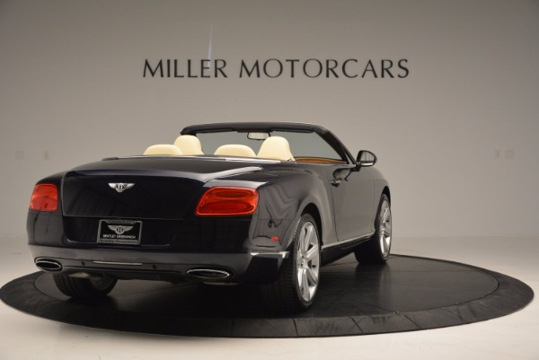 Used 2012 Bentley Continental GTC for sale Sold at Maserati of Greenwich in Greenwich CT 06830 7