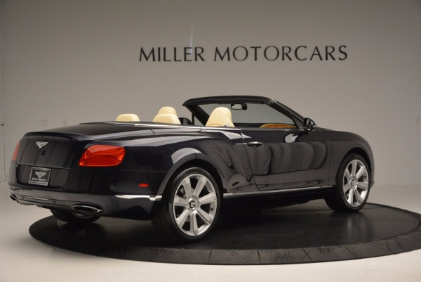 Used 2012 Bentley Continental GTC for sale Sold at Maserati of Greenwich in Greenwich CT 06830 8