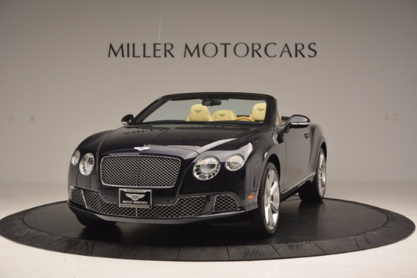 Used 2012 Bentley Continental GTC for sale Sold at Maserati of Greenwich in Greenwich CT 06830 1