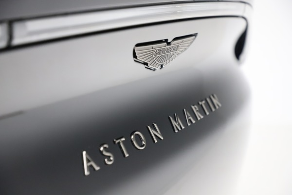 New 2020 Aston Martin DBX SUV for sale Call for price at Maserati of Greenwich in Greenwich CT 06830 27