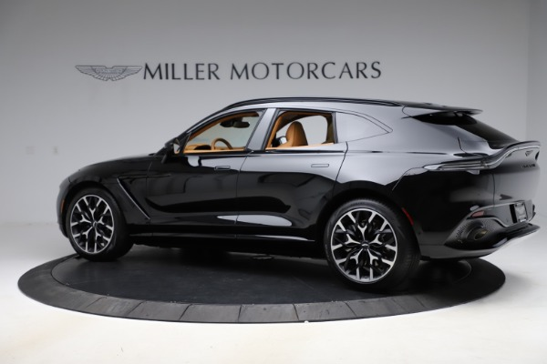 New 2020 Aston Martin DBX SUV for sale Call for price at Maserati of Greenwich in Greenwich CT 06830 3