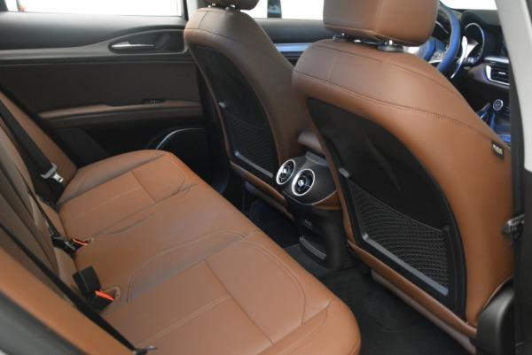 New 2018 Alfa Romeo Stelvio Sport Q4 for sale Sold at Maserati of Greenwich in Greenwich CT 06830 19