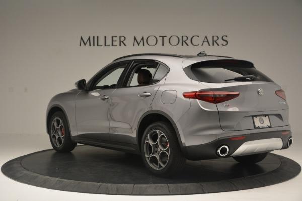 New 2018 Alfa Romeo Stelvio Sport Q4 for sale Sold at Maserati of Greenwich in Greenwich CT 06830 4