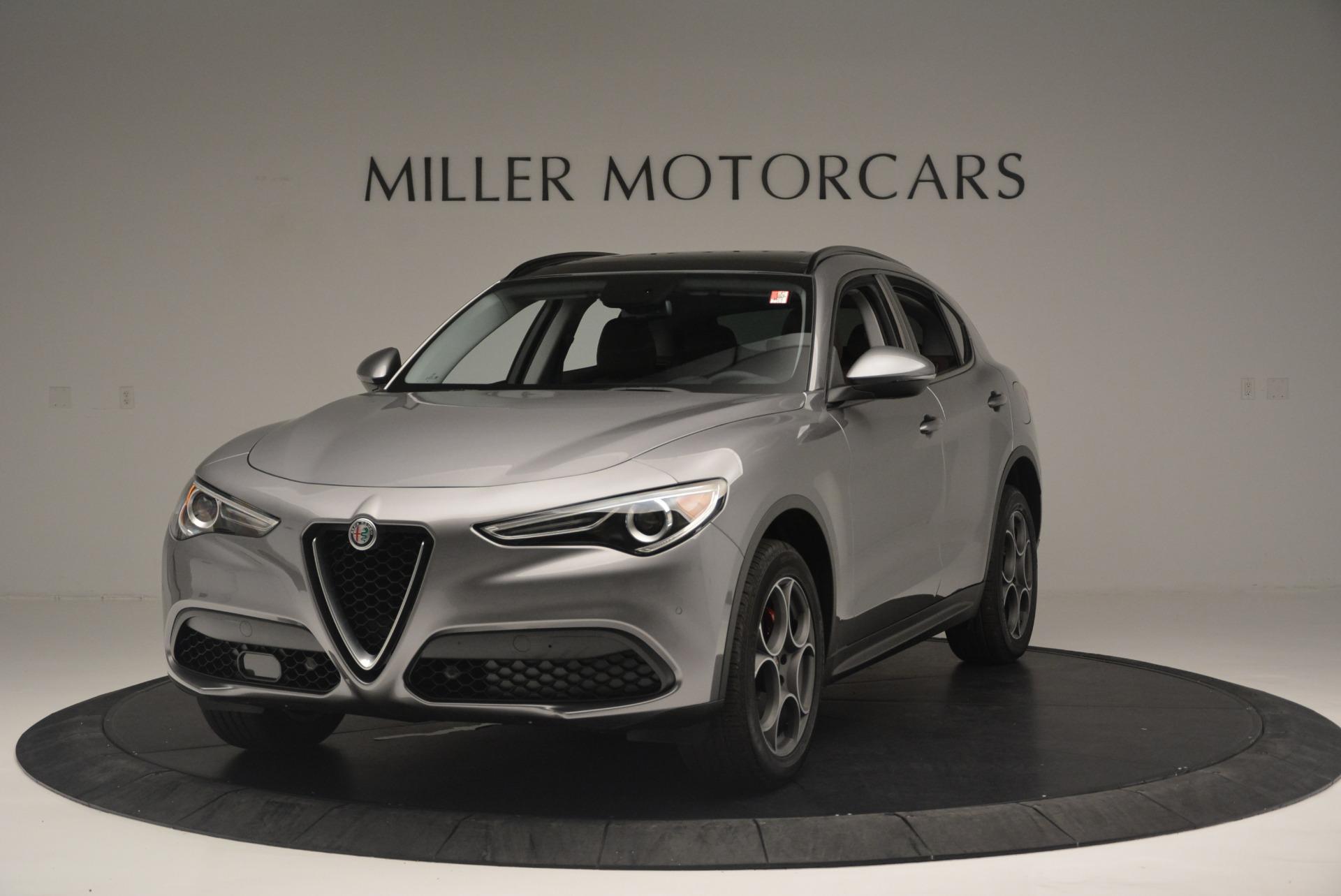 New 2018 Alfa Romeo Stelvio Sport Q4 for sale Sold at Maserati of Greenwich in Greenwich CT 06830 1
