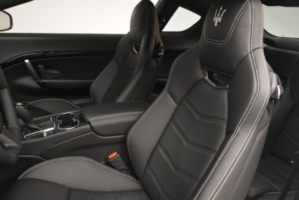 New 2016 Maserati GranTurismo Sport for sale Sold at Maserati of Greenwich in Greenwich CT 06830 19