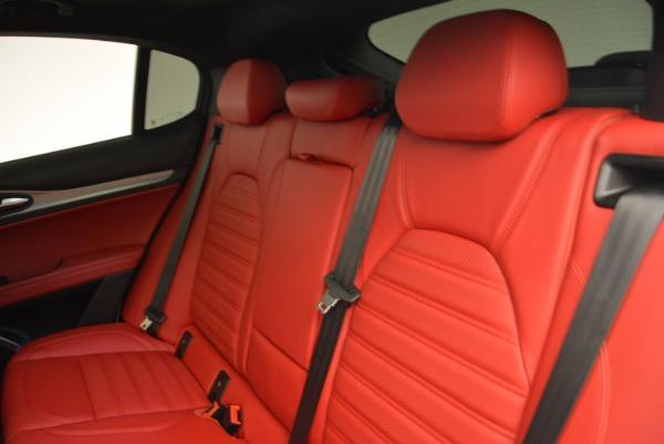 New 2018 Alfa Romeo Stelvio Ti Q4 for sale Sold at Maserati of Greenwich in Greenwich CT 06830 18