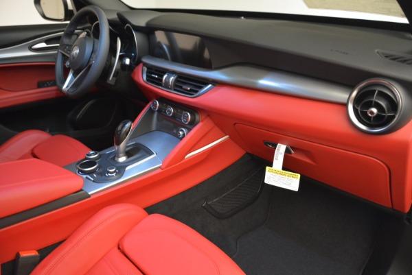 New 2018 Alfa Romeo Stelvio Ti Q4 for sale Sold at Maserati of Greenwich in Greenwich CT 06830 19