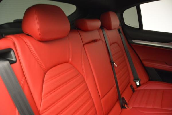 New 2018 Alfa Romeo Stelvio Ti Q4 for sale Sold at Maserati of Greenwich in Greenwich CT 06830 24
