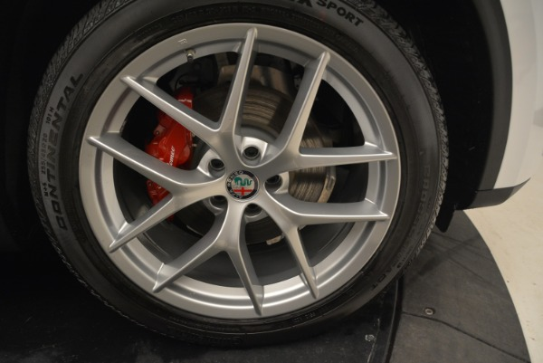 New 2018 Alfa Romeo Stelvio Ti Q4 for sale Sold at Maserati of Greenwich in Greenwich CT 06830 25