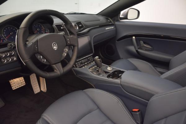 Used 2018 Maserati GranTurismo Sport Convertible for sale Sold at Maserati of Greenwich in Greenwich CT 06830 25