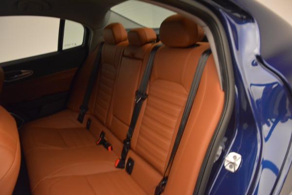 New 2018 Alfa Romeo Giulia Ti Sport Q4 for sale Sold at Maserati of Greenwich in Greenwich CT 06830 17