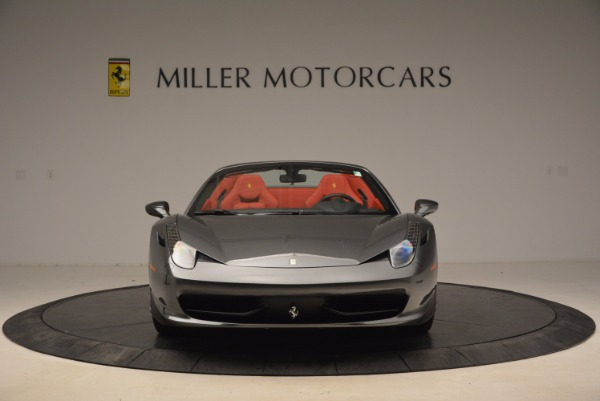 Used 2014 Ferrari 458 Spider for sale Sold at Maserati of Greenwich in Greenwich CT 06830 12