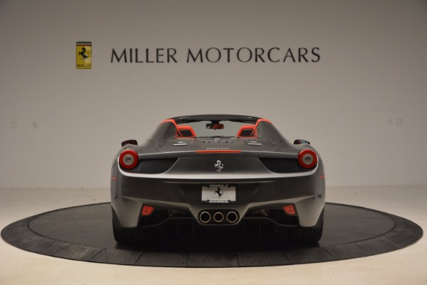 Used 2014 Ferrari 458 Spider for sale Sold at Maserati of Greenwich in Greenwich CT 06830 6