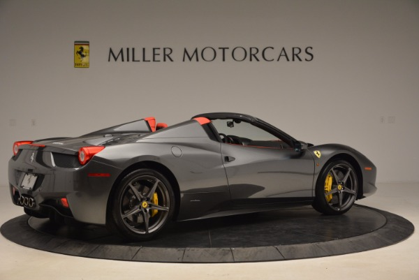 Used 2014 Ferrari 458 Spider for sale Sold at Maserati of Greenwich in Greenwich CT 06830 8