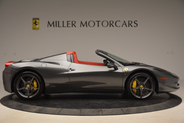 Used 2014 Ferrari 458 Spider for sale Sold at Maserati of Greenwich in Greenwich CT 06830 9