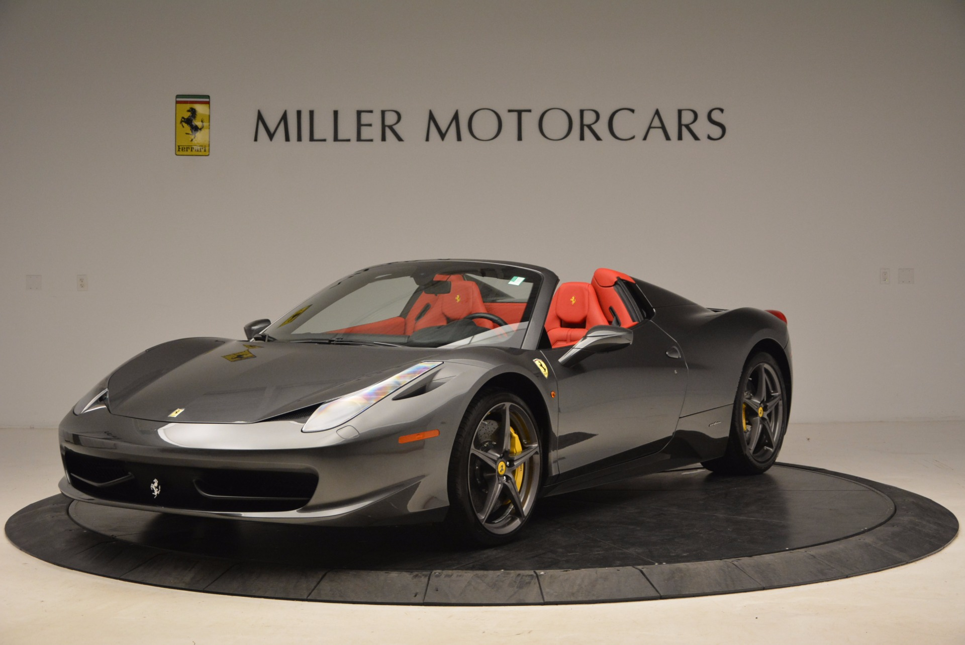 Used 2014 Ferrari 458 Spider for sale Sold at Maserati of Greenwich in Greenwich CT 06830 1