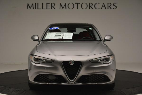 Used 2018 Alfa Romeo Giulia Q4 for sale Sold at Maserati of Greenwich in Greenwich CT 06830 12