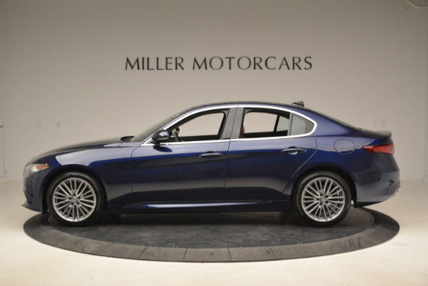 New 2018 Alfa Romeo Giulia Ti Lusso Q4 for sale Sold at Maserati of Greenwich in Greenwich CT 06830 3