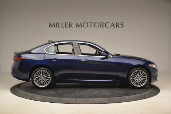 New 2018 Alfa Romeo Giulia Ti Lusso Q4 for sale Sold at Maserati of Greenwich in Greenwich CT 06830 9