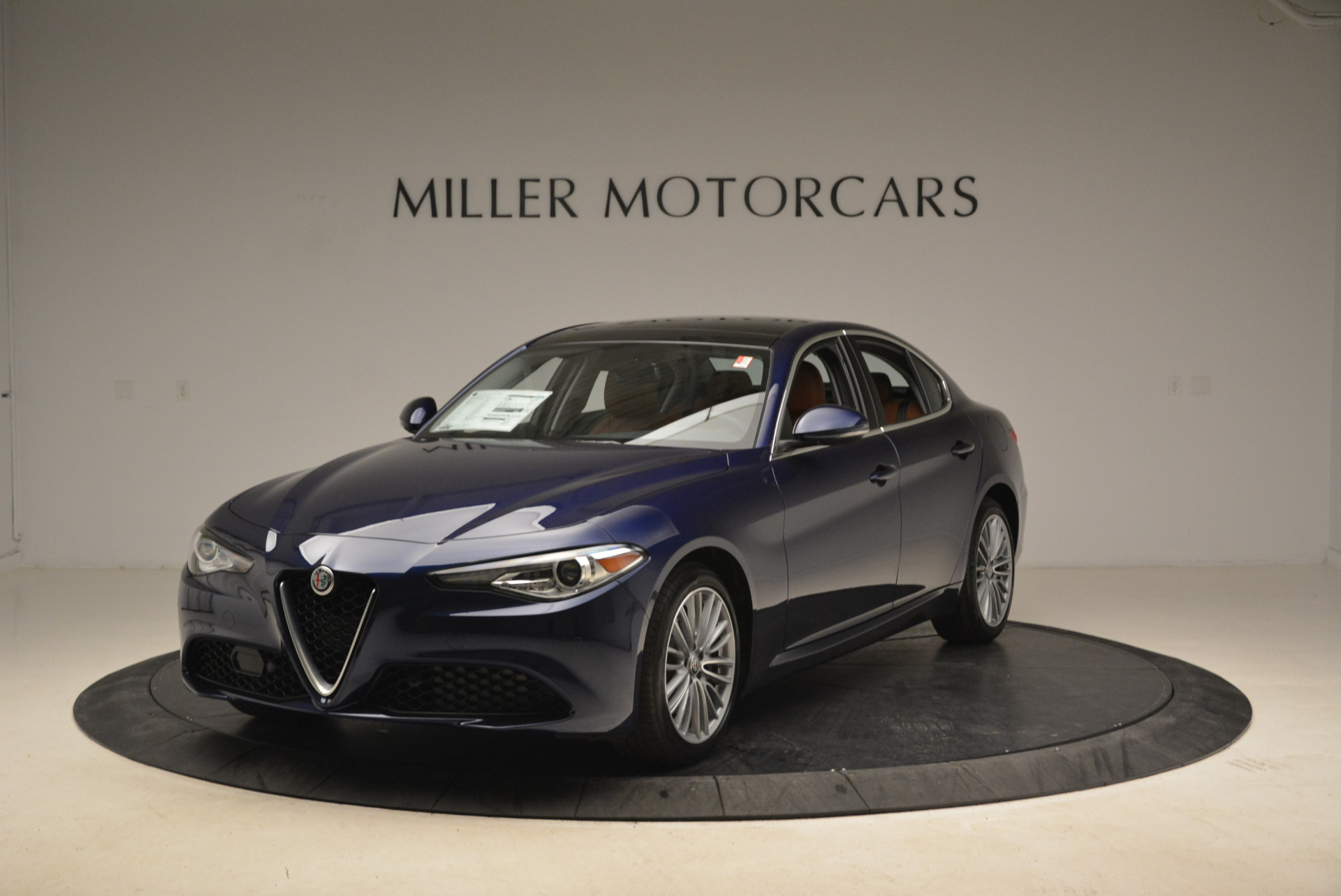 New 2018 Alfa Romeo Giulia Ti Lusso Q4 for sale Sold at Maserati of Greenwich in Greenwich CT 06830 1