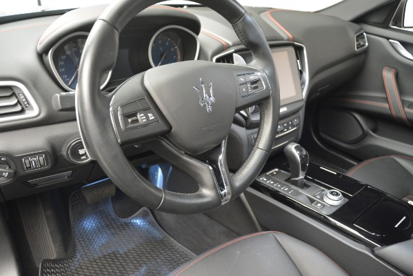 Used 2018 Maserati Ghibli S Q4 for sale Sold at Maserati of Greenwich in Greenwich CT 06830 14
