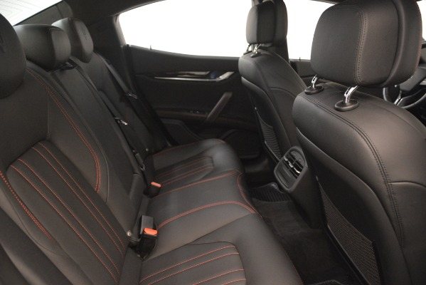 Used 2018 Maserati Ghibli S Q4 for sale Sold at Maserati of Greenwich in Greenwich CT 06830 23